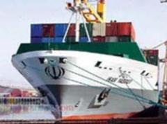 خدمات حمل و نقل بین المللی دریایی