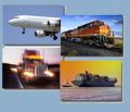 حمل و نقل بین المللی جاده ای، ریلی و دریائی